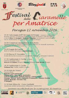 Claudia Grohovaz: FESTIVAL DELLE CIARAMELLE PER AMATRICE: una giorna...