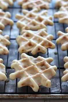 Doughnut Waffles with Maple Glaze | 34 Life-Changing Ways To Eat Waffles