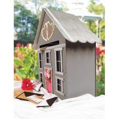 Maison urne en MDF - 35 x 50 x 35 cm - Graine créative
