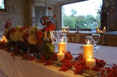 Wedding decoration of the rowanberry by Aveart