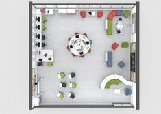 School should be a space where you must be comfortable at. A warm and friendly environment promotes affective safety and balanced personal development. Classroom Floor Plan, Modern Classroom, Classroom Layout, Classroom Design, School Building Design, School Library Design, Pop Up Karten, 21st Century Classroom, Classroom Furniture