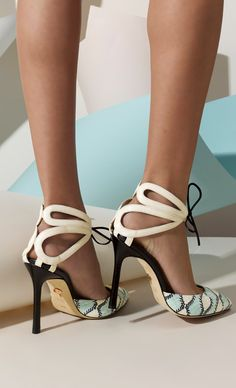 Scalloped cut out stilettos