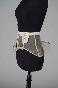 Panniers Manufacturer: Warren's Date: 1920–24 Culture: American Medium: Cotton Credit Line: Brooklyn Museum Costume Collection at The Metropolitan Museum of Art, Gift of the Brooklyn Museum, 2009 Accession Number: 2009.300.8462