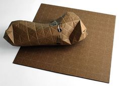 designer concept by Patrick Sung green package design project is entitled UPS – for Universal Packaging System