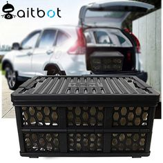 High quality New creative patented plastic outdoor car collapsible storage box foldable