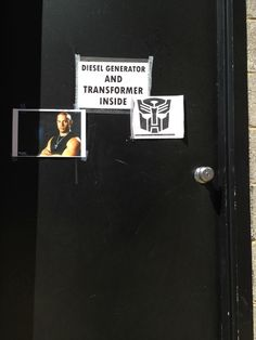 The 23 Most Hilarious Sign Improvements Of All Time. Diesel and Transformers