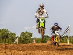 https://flic.kr/p/xGxfxh | One High One Low | Motocross racing at the Oklahoma Motorsports Complex in Norman, Oklahoma.