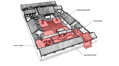 1000 images about siheyuan chinese courtyard house on for Traditional chinese house plans