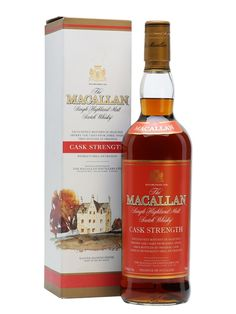 Macallan Cask Strength Scotch Whisky : The Whisky Exchange