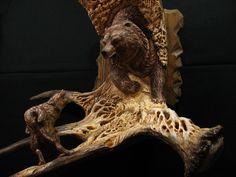 Moose Antler Carvings | Big Game Hunt