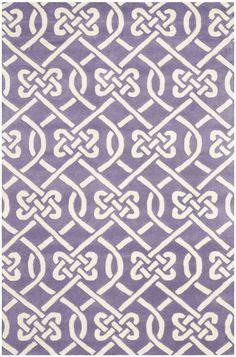 Safavieh Chatham Transitional Indoor Area Rug Purple / Ivory