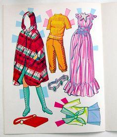 1000 in Dolls & Bears, Paper Dolls, Vintage