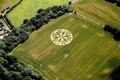 Crop Circle at Rock Lane, Warwickshire, July 11, 2012