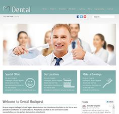 """Dental Budapest just released! A refreshing Joomla template with multiple colours &   styles, various fonts, user manual, logo and more. Get a complete copy of this   template using the included quickstart and modify to suit your needs. Be sure to   checkout the """"Home2"""" page to view the template in an alternative layout.   #joomlatemplate #joomla #joomlatemplates #joomzilla"""