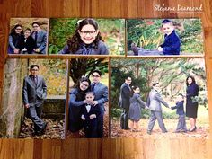 An AMAZING canvas cluster ready to hang on a client's wall!! They're 10x10, 3 10x20s, 16x20, and 20x24.