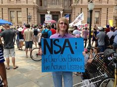 NSA: The only Government Branch that actually listens!