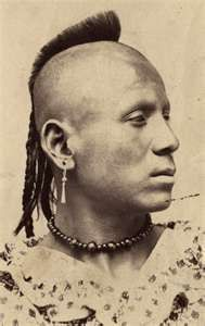 Pawnee Warrior 1860