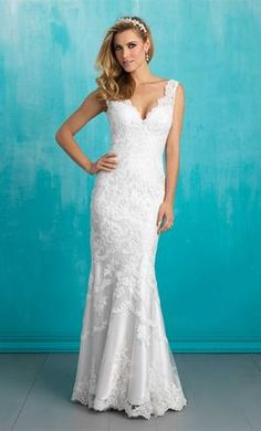 Allure Bridals 9034: buy this dress for a fraction of the salon price on PreOwnedWeddingDresses.com