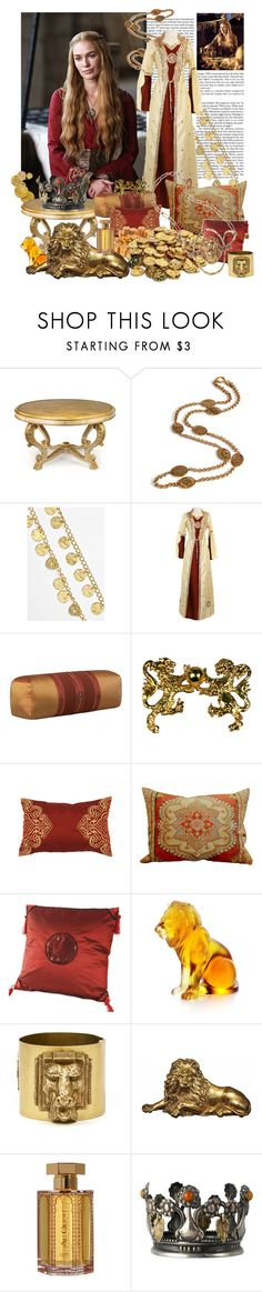 """""""When you play the game of thrones, you win or you die. There is no middle ground"""" by counterlines ❤ liked on Polyvore featuring John-Richard, Chanel, Kenneth Jay Lane, Natori, Lalique, Rodarte, L'Artisan Parfumeur, Georg Jensen, Yochi and lannister"""