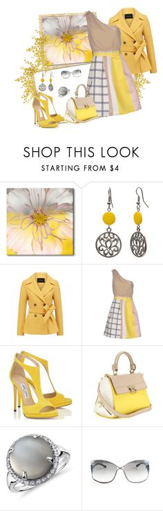 """Mustard"" by vst063090 ❤ liked on Polyvore featuring Mixit, Forever New, Tenax, Salvatore Ferragamo, Blue Nile and Tom Ford"
