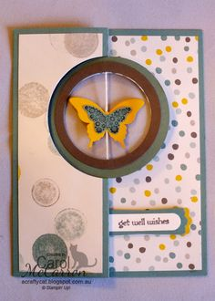 =A Crafty Cat; Stampin' Up! circle swing card thinlit