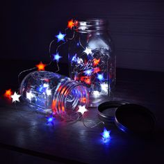 Symbol Of The Brand Fairy String Lights 4th Of July Patriotic American Flag Led 100 Lights Decorativ Collectibles
