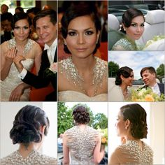 Bridal Make Up and Hair for Alannys Weber Wedding ,Amsterdam the Netherlands
