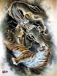Image result for 龍虎図