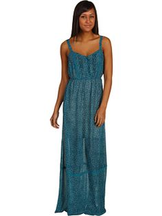 6pm || O'NEILL Amore Dress || #oneill #maxi #turquoise#6amto6pm