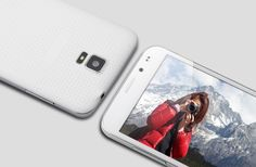 5 Inch Smartphone 'Harrier' - MTK6582 Quad Core CPU, Unlocked, 3G, Android 4.2 OS, OGS Display (White)