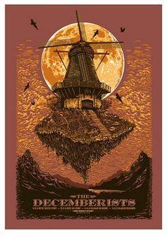 Ken Taylor The Decemberist Poster