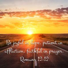 Rom. 12:12