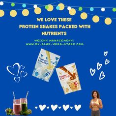 These nutrient-packed fab and tasty protein meal replacement shakes are great in their own right as well as being a key component of Aloe Vera Diet (C9)! But don't take my word for that! Simply click the embedded Facebook link for loads and loads of great Forever Lite shake info.