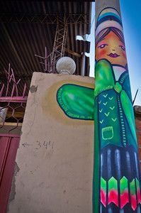 For more, check my post: Cochabamba, The Best Place for Street Art in Bolivia Bolivia, World Of Color, Vivid Colors, The Good Place, Street Art, Pure Products, Stone, Outdoor Decor, Pictures