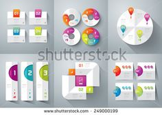 Abstract 3D digital illustration Infographic. Vector illustration can be used for workflow layout, diagram, number options, web design. Business concept with 3, 4 options.  Abstract background. - stock vector