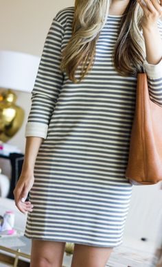 c7192c85399 Nordstrom Anniversary Sale Gift Card Giveaway. Striped Dress--the ...