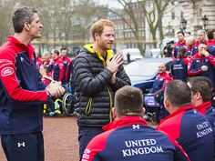 Star Tracks: Thursday, April 7, 2016 | PLAYING GAMES | Here they are! Prince Harry unveils the team who will represent the UK at the Invictus Games in May, on Wednesday in London.