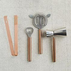 Copper Bar Tools #westelm