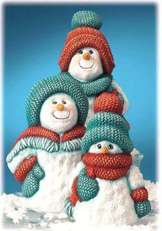 snowman families