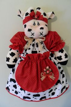 Puxa-saco Vaquinha, cow