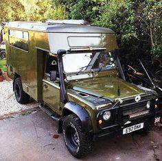 Landrover Ambulance Camper