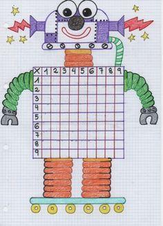 Robot de las multiplicaciones. De esta manera, estudiar y aprender no puede ser más divertido. #mamasmolonas #TEL #ayudandoencasa Church Activities, Math Activities, Kindergarten Math, Teaching Math, Social Studies Projects, Math School, Homeschool Math, 2nd Grade Math, Math For Kids