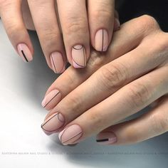 Want some ideas for wedding nail polish designs? This article is a collection of our favorite nail polish designs for your special day. Read for inspiration Simple Nail Art Designs, Diy Nail Designs, Nail Polish Designs, Acrylic Nail Designs, Nails Design, Stripe Nail Designs, Latest Nail Designs, Acrylic Nails, Minimalist Nails