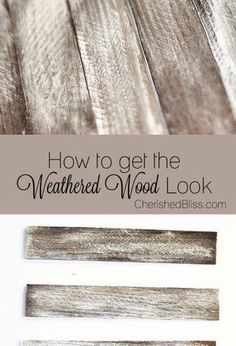 how to weather wood, painting, woodworking projects, This is a great alternative if you can t find or prefer not to use reclaimed wood With this easy technique you can make any new piece of wood look reclaimed and weathered! Woodworking School, Learn Woodworking, Woodworking Furniture, Woodworking Projects, Woodworking Workbench, Woodworking Videos, Woodworking Machinery, Woodworking Equipment, Popular Woodworking