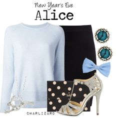 Disney Inspired Outfits, Themed Outfits, Disney Outfits, Alice In Wonderland Outfit, Alice Cosplay, Weekend Wear, Disneybound, Betsey Johnson, Polyvore Fashion