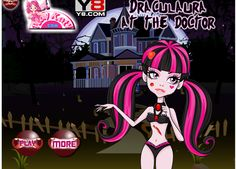 Play #Draculaura at the #Doctor #Hospital of #Monster High