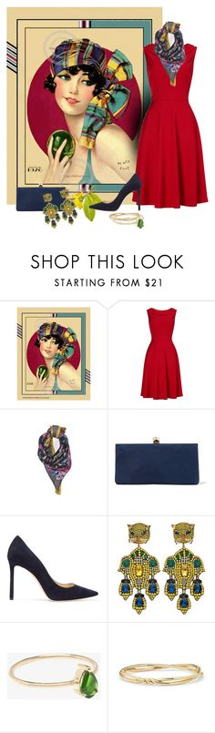 """""""fashion and art"""" by art-gives-me-life ❤ liked on Polyvore featuring Phase Eight, Ann Taylor, Jimmy Choo, Gucci, Ileana Makri, David Yurman, contestentry and freshideas"""