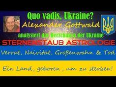 Neues Horoskop Video – Quo vadis Ukraine? Verrat, Naivität, Größenwahn & Tod – Das Herzchakra der Ukraine in der astrologischen Analyse http://sternenstaubastrologie.info/