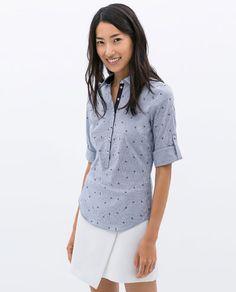 Camisas zara mujer 2015