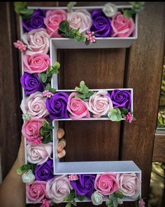 Christmas Crafts For Kids, Purple Flowers, Floral Design, Floral Wreath, How To Apply, Soap, Wreaths, Frame, Business